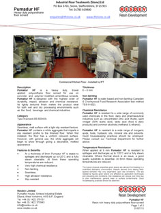 Commercial Kitchen Flooring Pumadur HF